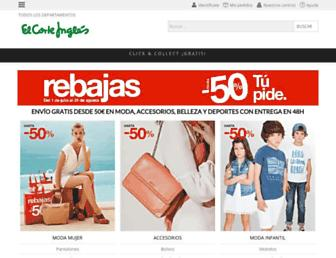 elcorteingles.es screenshot