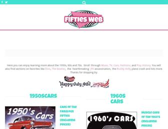Thumbshot of Fiftiesweb.com