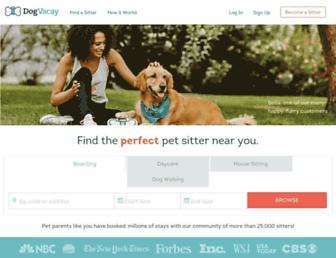 Thumbshot of Dogvacay.com