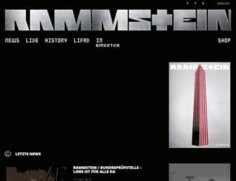 Thumbshot of Rammstein.de