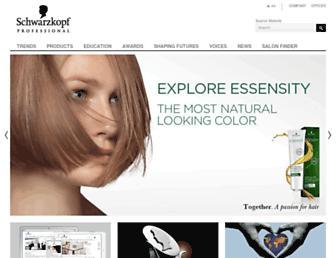 schwarzkopf-professionalusa.com screenshot