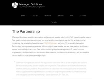 managedsolutions.com screenshot