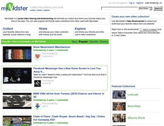 Thumbshot of Myvidster.com