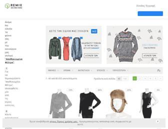 remixshop.com screenshot