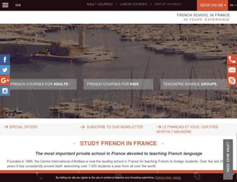 Thumbshot of Cia-france.com