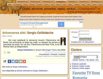 citatepedia.ro screenshot