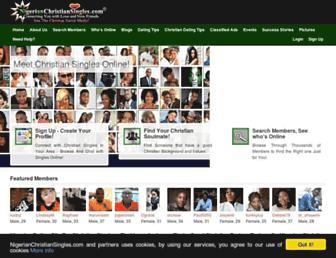 nigerianchristiansingles.com screenshot