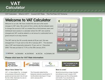 Thumbshot of Vatcalculator.co.uk