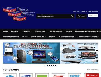 smartboxwebstore.com screenshot