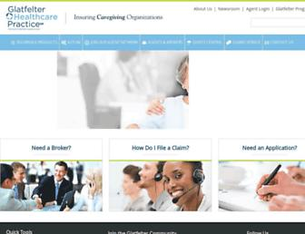 glatfelterhealthcarepractice.com screenshot