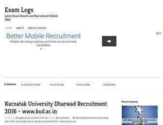 examlogs.org.in screenshot