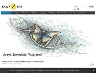 kawaska.pl screenshot