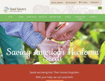 Thumbshot of Seedsavers.org