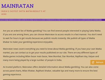 mainratan.com screenshot