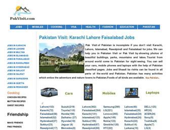 Thumbshot of Pakvisit.com