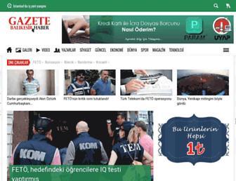 Thumbshot of Gazetebalikesir.com
