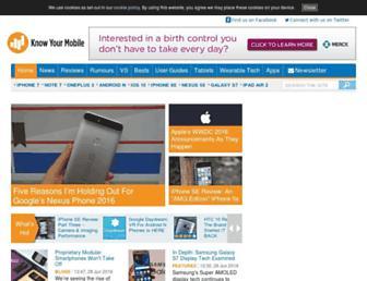 knowyourmobile.com screenshot