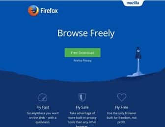 Thumbshot of Mozilla.com