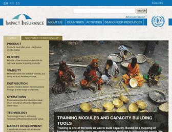 impactinsurance.org screenshot