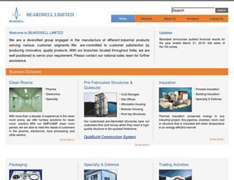 beardsell.co.in screenshot