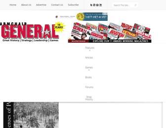 armchairgeneral.com screenshot