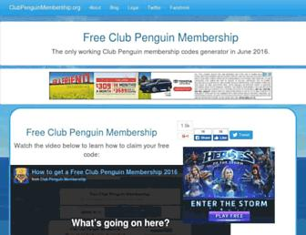 Thumbshot of Clubpenguinmash.com