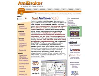 amibroker.com screenshot