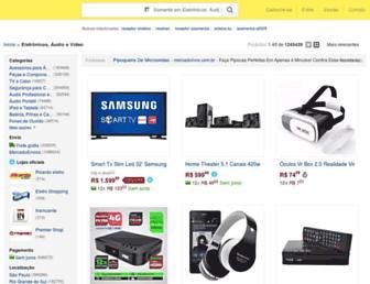 eletronicos.mercadolivre.com.br screenshot