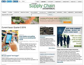 supplychainquarterly.com screenshot