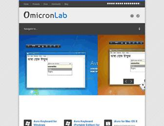 omicronlab.com screenshot