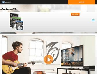 rocksmith.ubisoft.com screenshot
