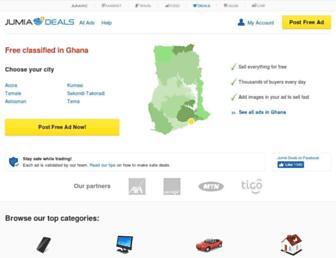 deals.jumia.com.gh screenshot