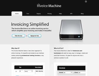 Thumbshot of Invoicemachine.com