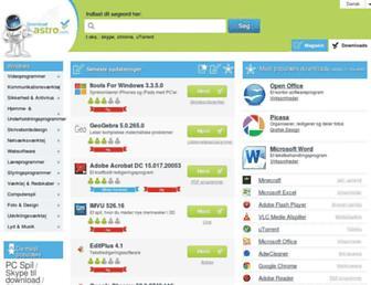 da.downloadastro.com screenshot