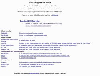 Thumbshot of Dvddecrypter.org.uk