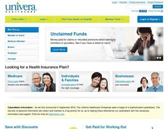 univerahealthcare.com screenshot