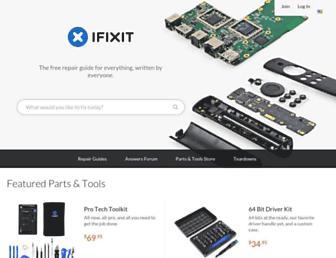 ifixit.com screenshot