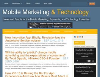 mobilemarketingandtechnology.com screenshot