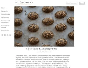 Thumbshot of 101cookbooks.com