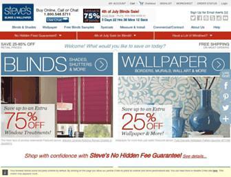 Thumbshot of Stevesblindsandwallpaper.com