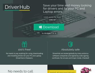 drvhub.net screenshot