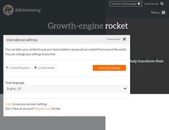 b2bmarketing.net screenshot