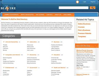Thumbshot of Bizfire-directory.com