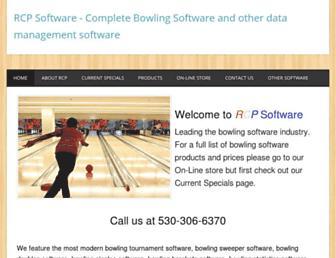 rcpsoftware.com screenshot