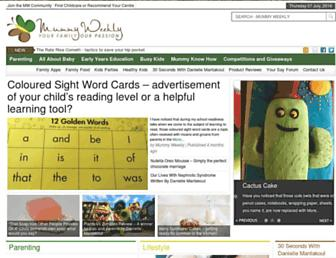 Thumbshot of Mummyweekly.com.au