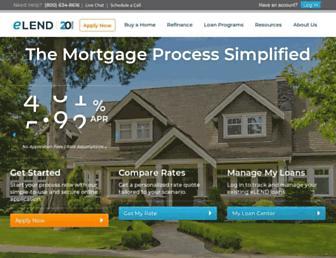 elend.com screenshot
