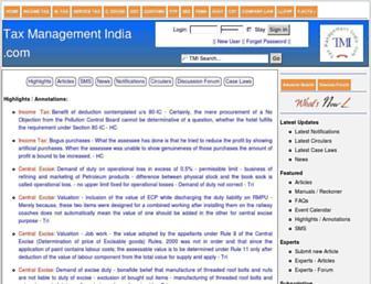 Thumbshot of Taxmanagementindia.com