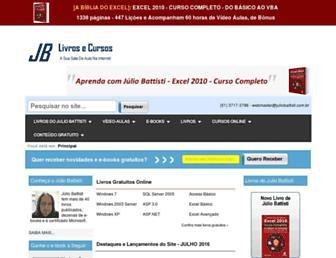 Thumbshot of Juliobattisti.com.br