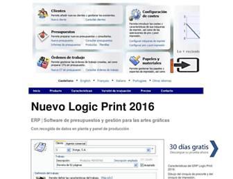 logic-print.com screenshot