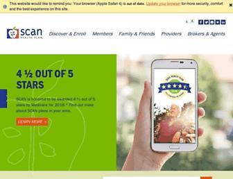 scanhealthplan.com screenshot